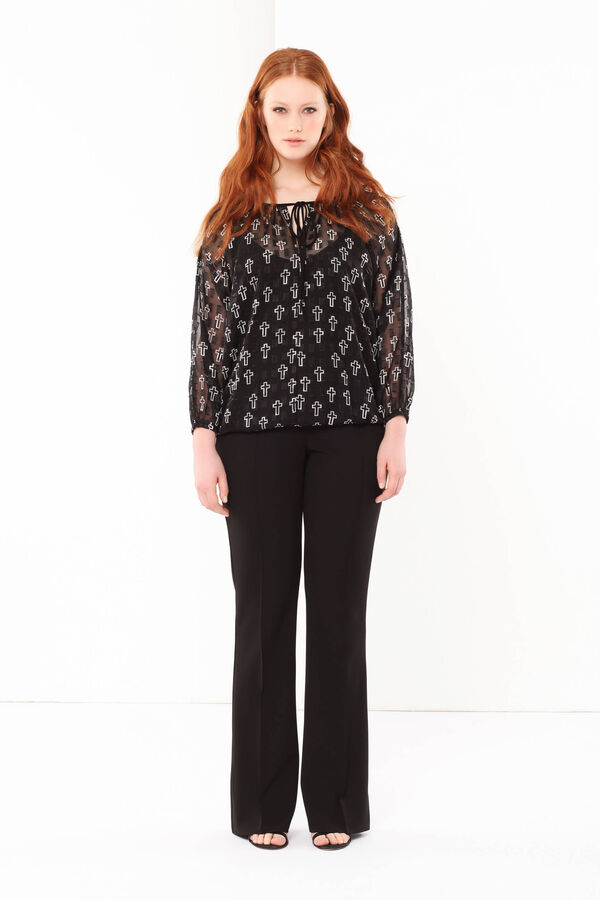 Curvyglam patterned blouse | OVS