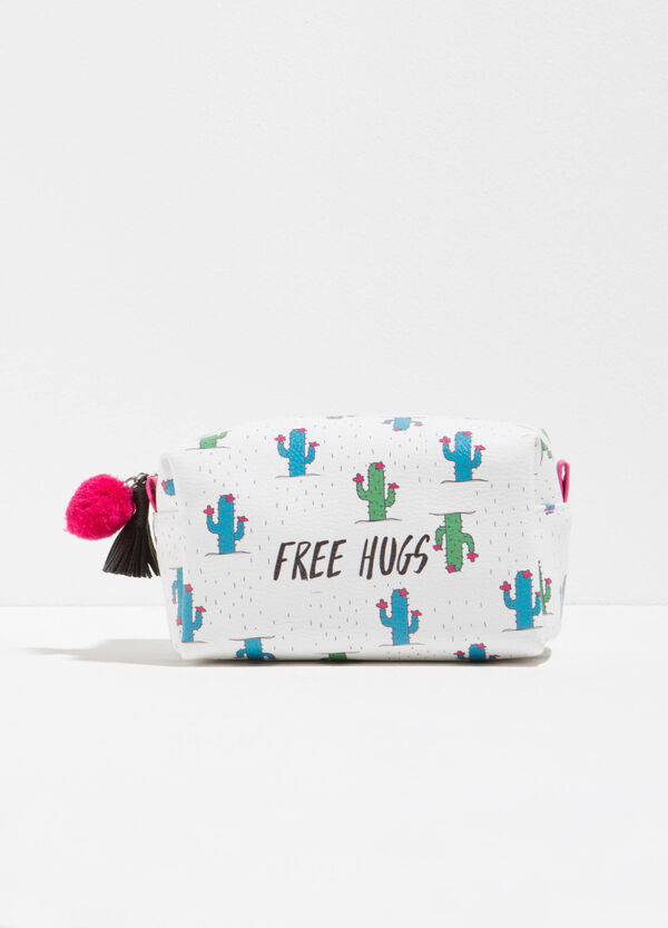 Beauty bag with cactus pattern   OVS