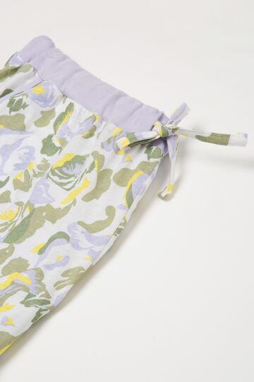 Patterned pyjamas in 100% cotton
