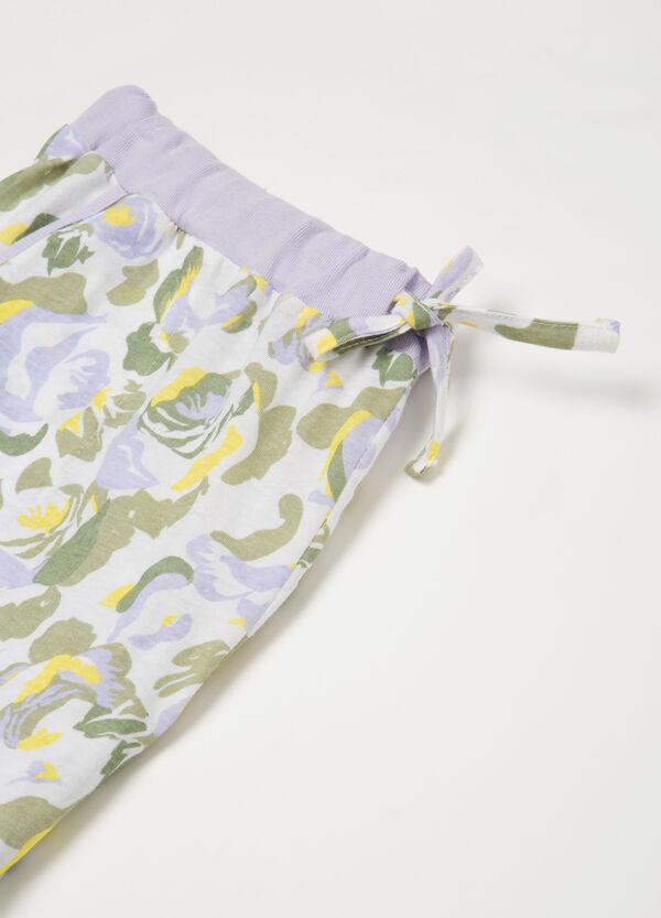 Patterned pyjamas in 100% cotton | OVS