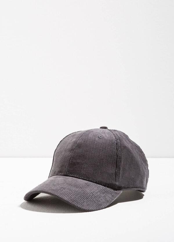 Cappello da baseball a costine | OVS