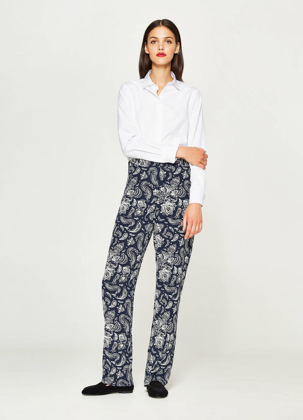 Pantaloni con stampa all-over | OVS