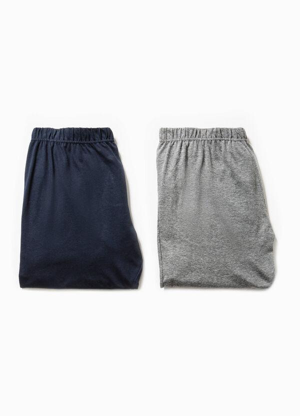 Set due pantaloni pigiama in jersey | OVS