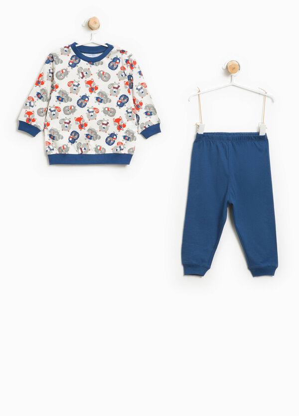 Organic cotton pyjamas with animal print | OVS