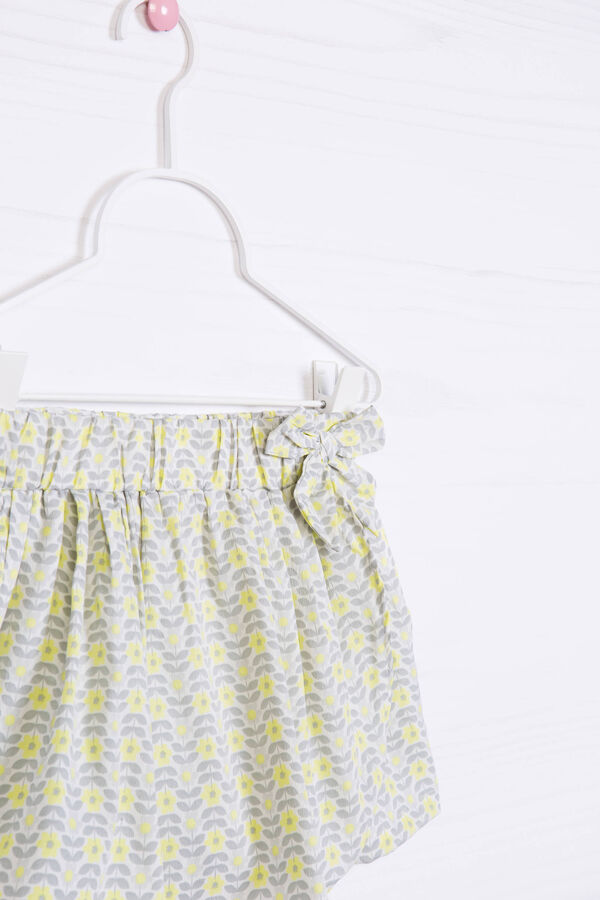 Patterned culottes with bow | OVS