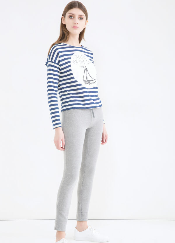 Pantaloni tuta cotone stretch | OVS
