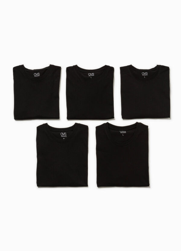 Set cinque t-shirt intime in cotone | OVS