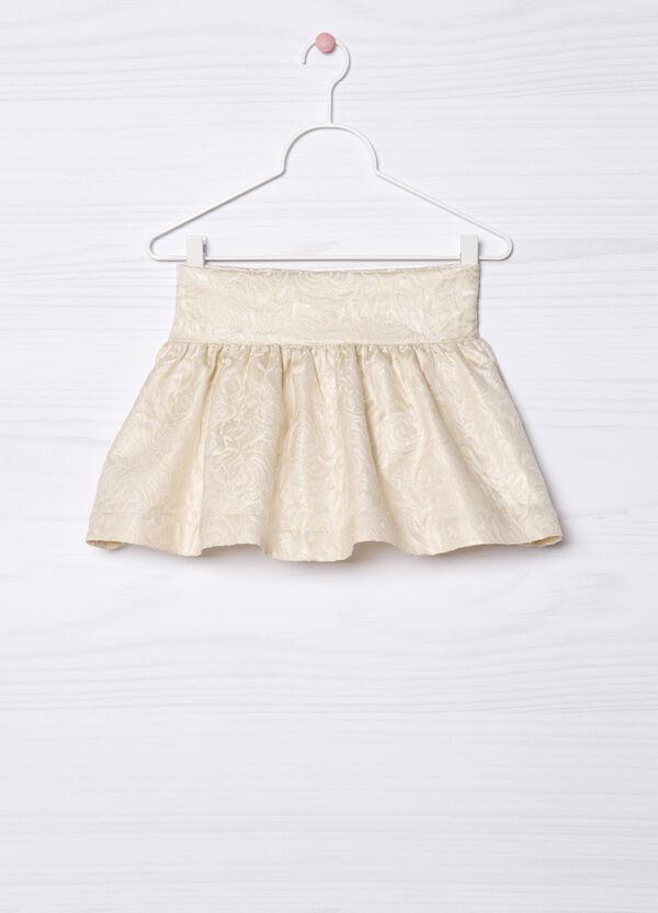 Printed pleated skirt. | OVS