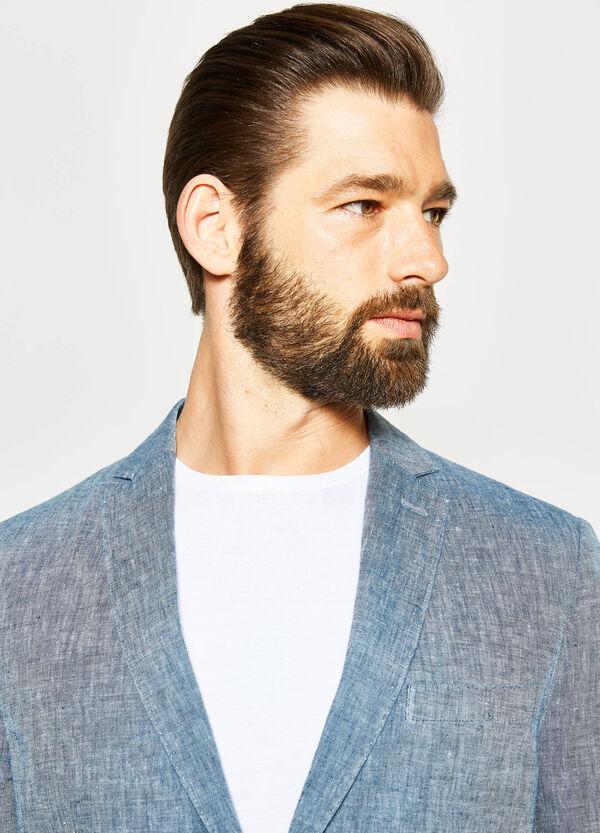 Giacca elegante slim fit puro lino | OVS