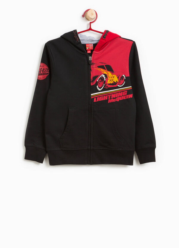 100% cotton hoodie with Cars print | OVS