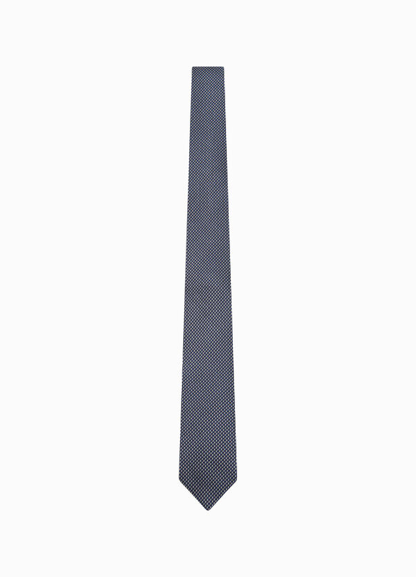 Silk tie with micro pattern | OVS