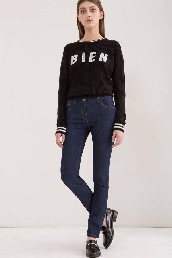 Five-pocket stretch jeans. | OVS
