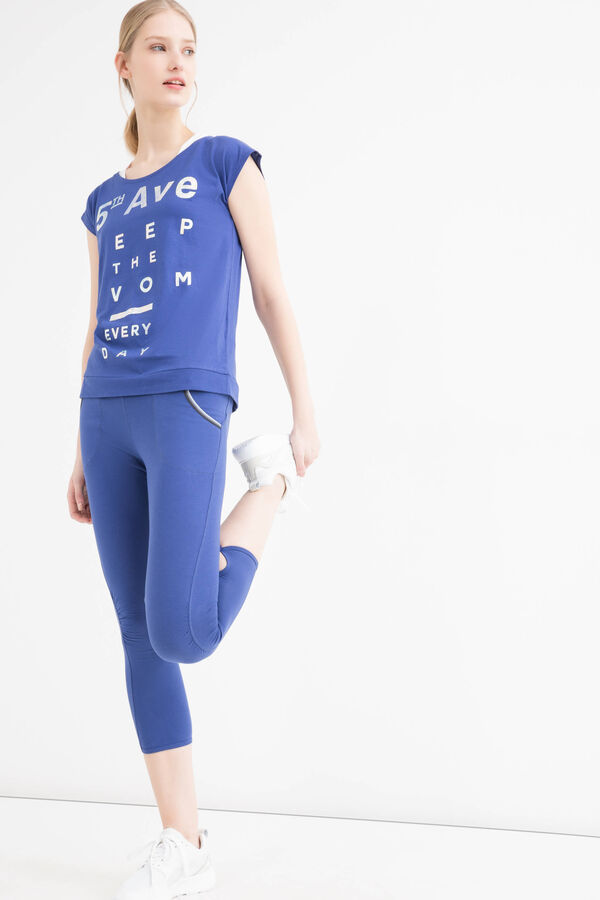 T-shirt sportiva misto cotone | OVS