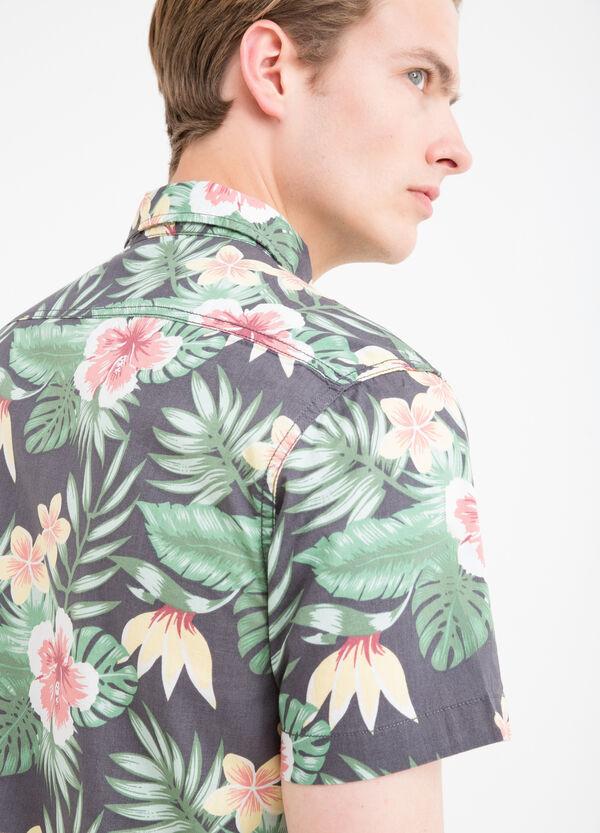 Camicia puro cotone stampa G&H   OVS