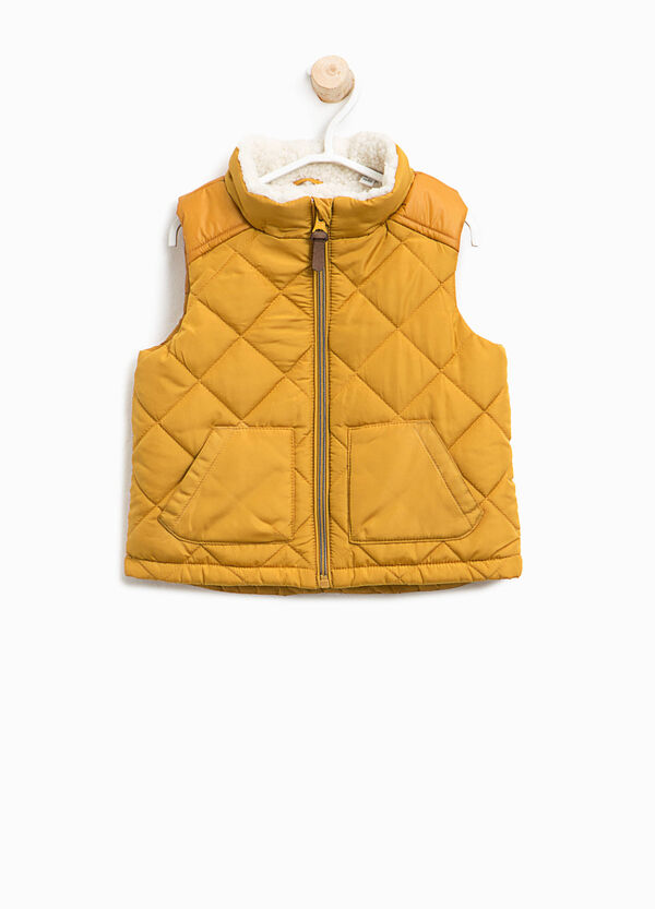 Quilted and padded gilet   OVS