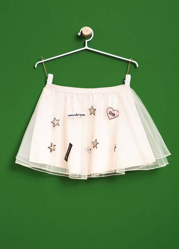 Gonna in tulle con patch | OVS