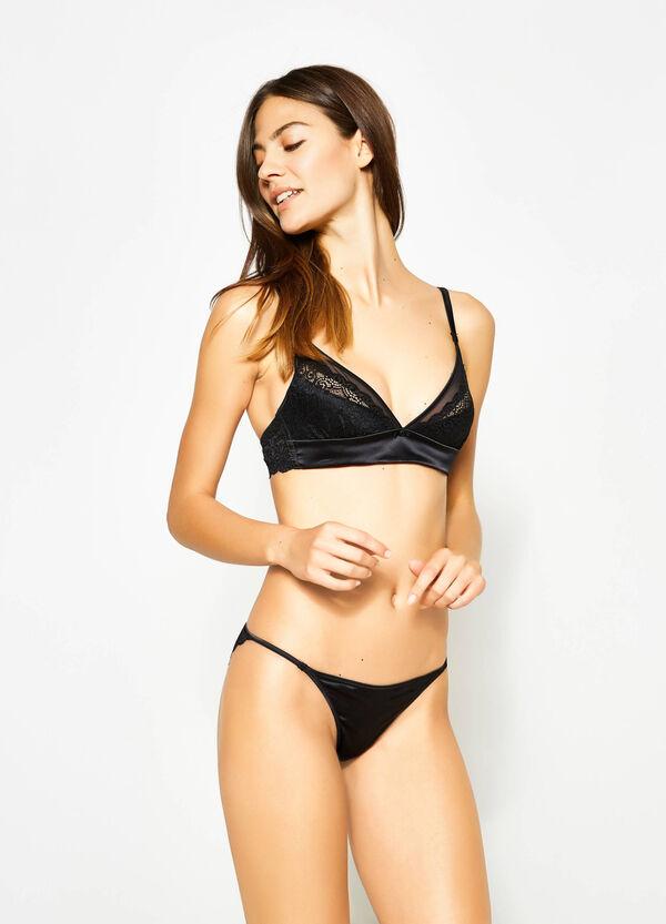 Lace triangle bra | OVS