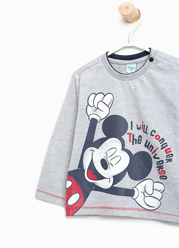 T-shirt in cotone stampa Mickey Mouse | OVS