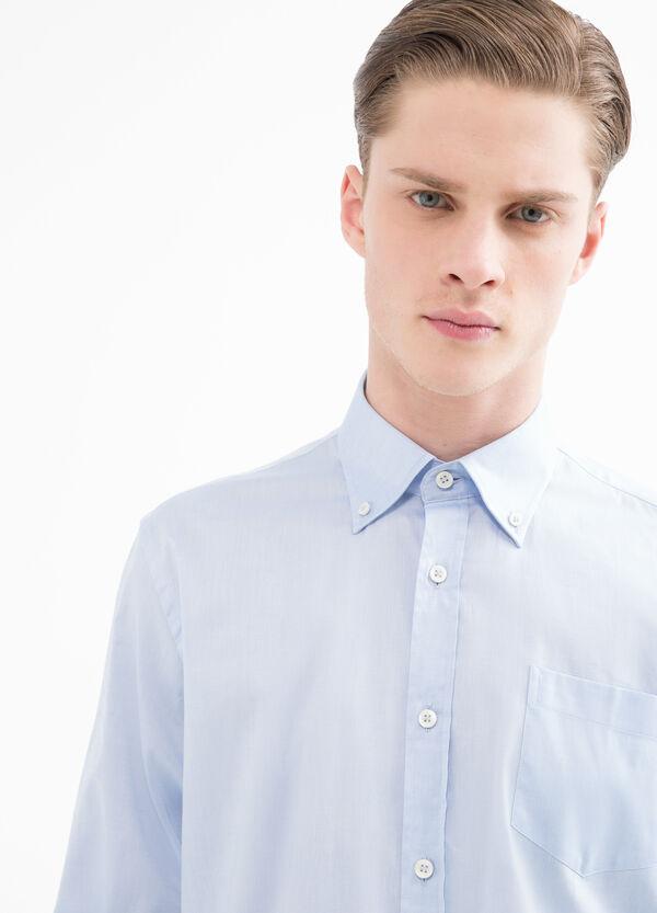 Camicia puro cotone regular fit | OVS