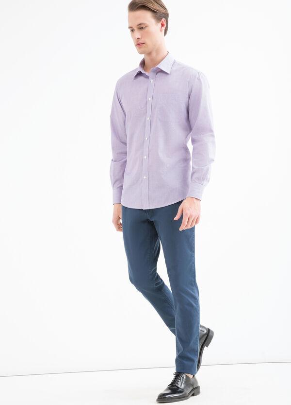 Camicia regular fit con taschino | OVS