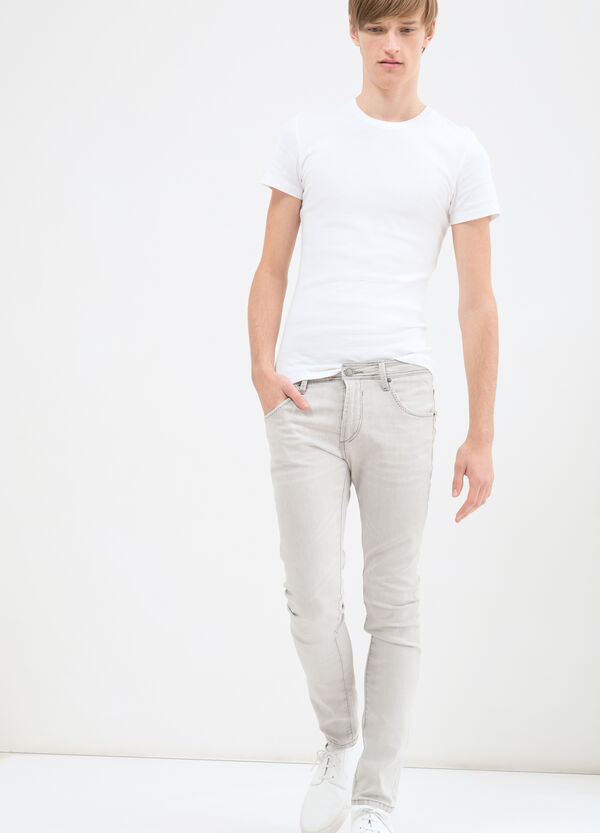 Jeans with super-skinny fit. | OVS