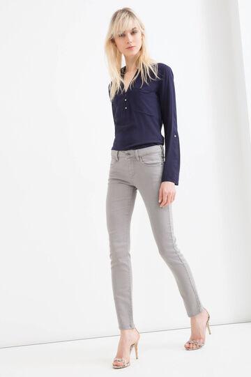 Slim-fit stretch jeans