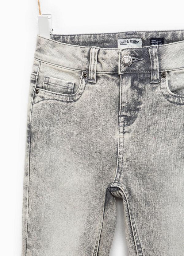 Jeans stretch effetto maltinto | OVS