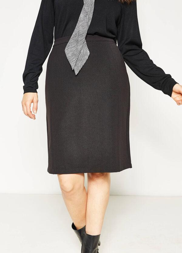 Curvy stretch pencil skirt | OVS