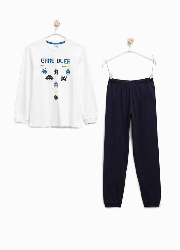 Pyjamas with Space Invaders print | OVS