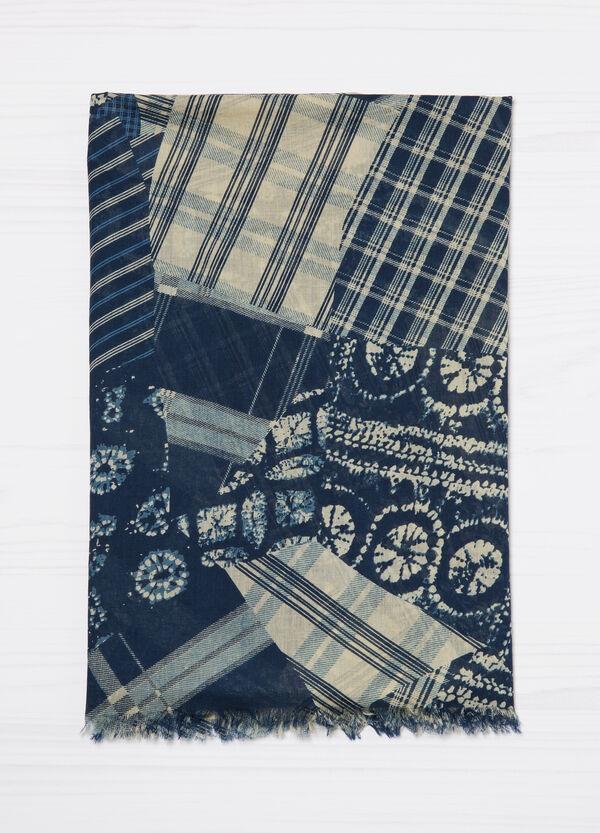 Sciarpa puro cotone stampa | OVS