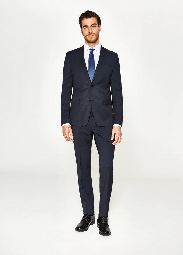 Solid colour, slim-fit viscose dress | OVS