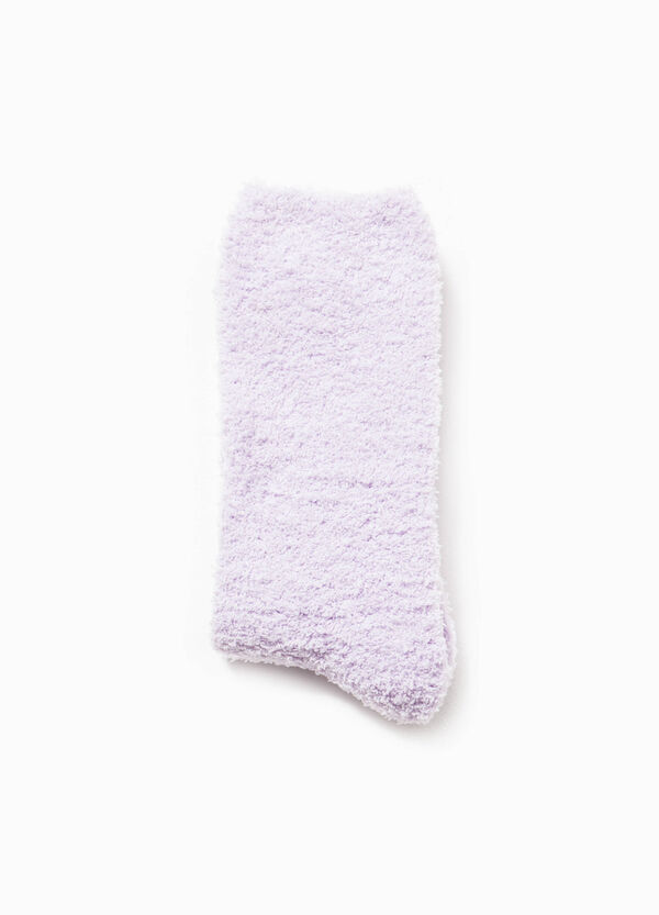 Solid colour stretch short socks | OVS