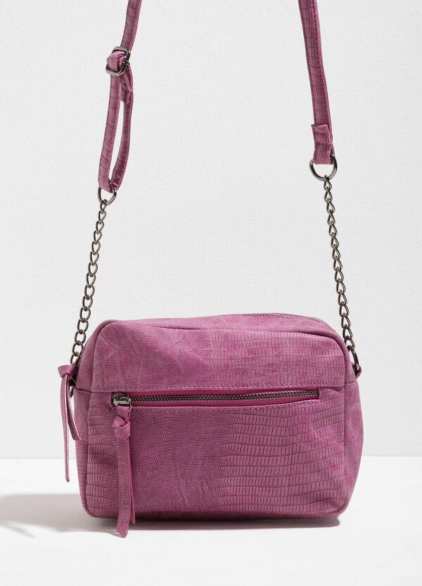 Shoulder bag with crocodile texture | OVS