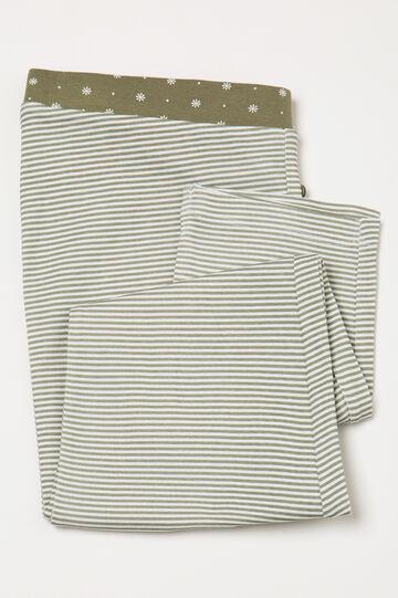 Striped pyjama trousers in 100% cotton