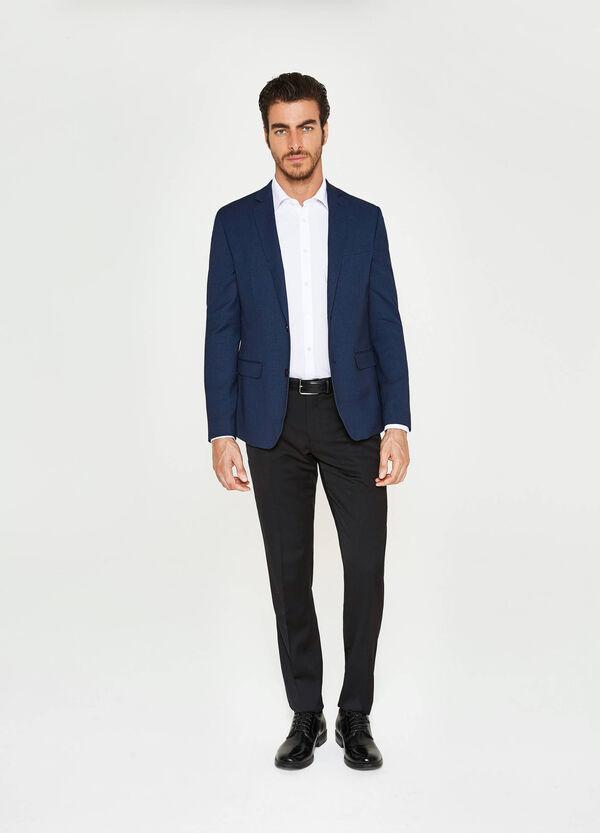 Elegant slim-fit jacket in viscose | OVS