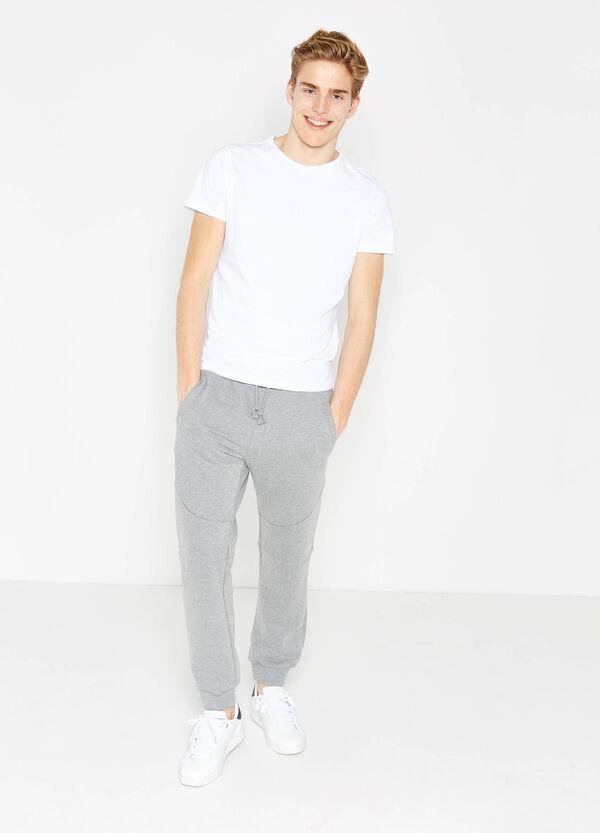 Pantaloni tuta con stampa sul retro   OVS