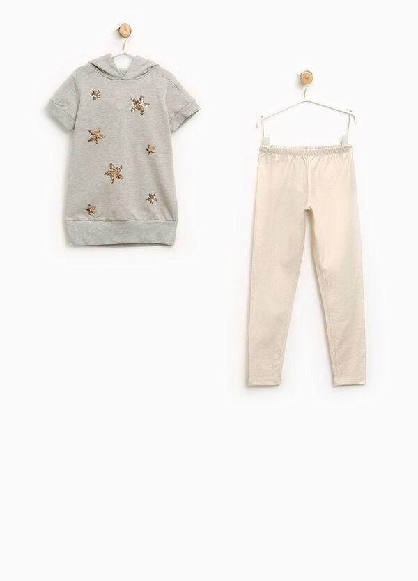 Completo vestitino e pantaloni cotone | OVS