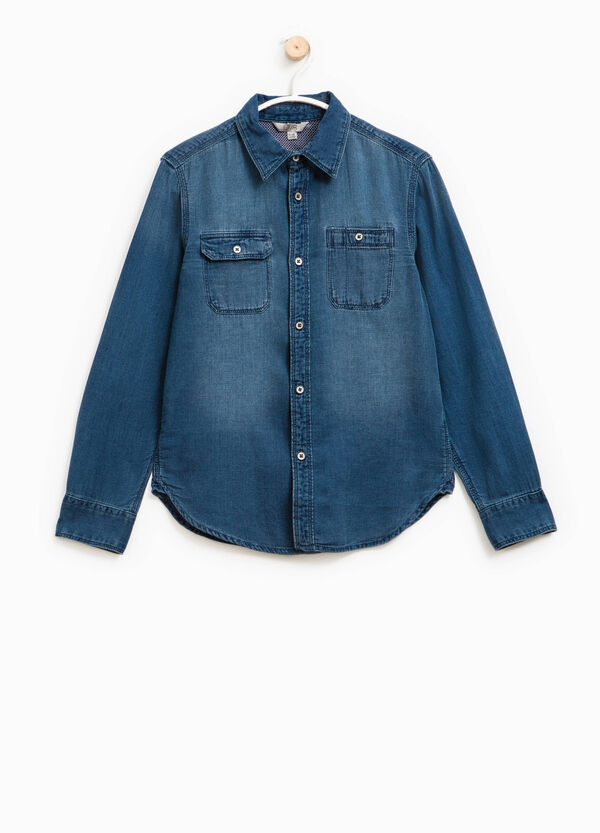 Camicia di jeans con taschini | OVS