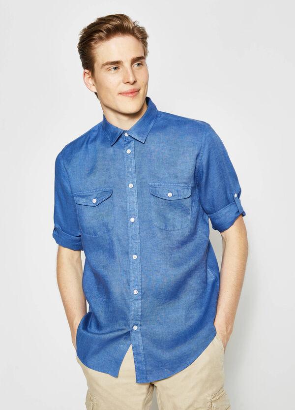 Camicia casual con colletto classico | OVS