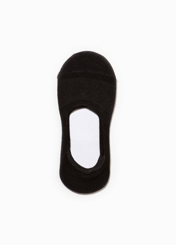 Solid colour stretch shoe liner | OVS