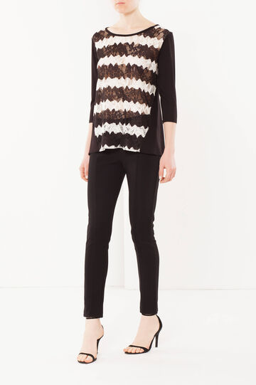 Lace jumper