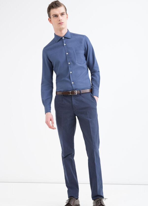 Camicia tinta unita cotone Rumford | OVS