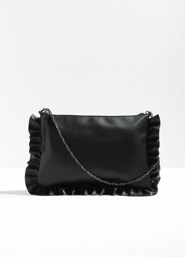 Shoulder bag with flounces | OVS