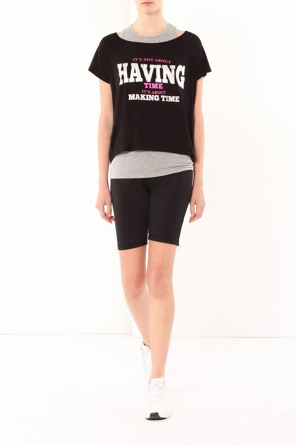 T-shirt in viscosa stretch | OVS