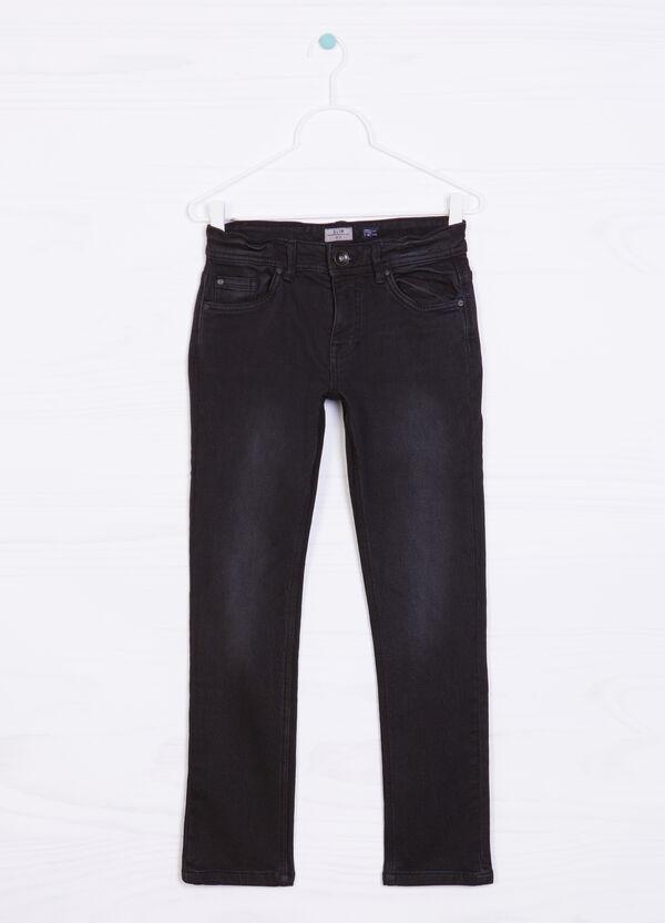 Jeans stretch effetto delavé   OVS