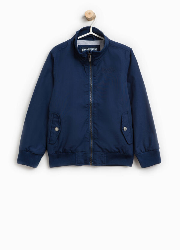 Solid colour jacket with high neck   OVS