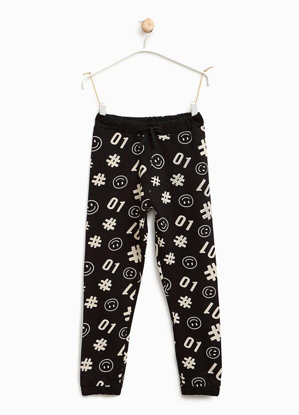Pantaloni tuta stampa Smiley | OVS