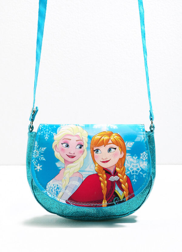 Glitter shoulder bag with Frozen print | OVS