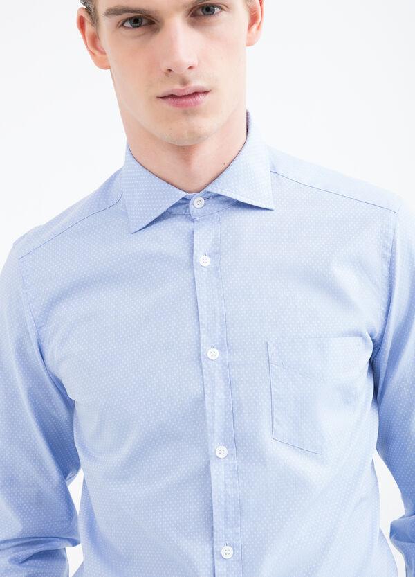 Camicia puro cotone a pois Rumford | OVS