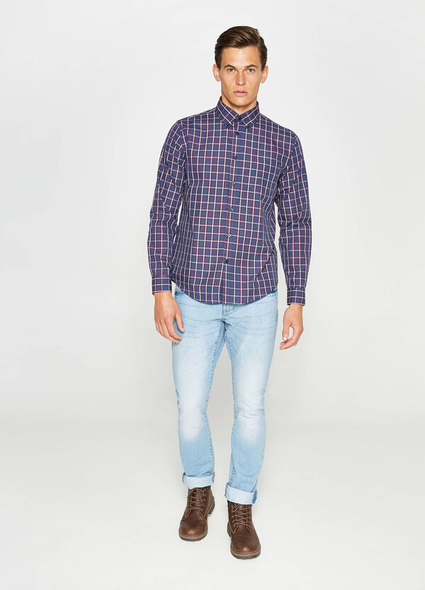 Check patterned casual shirt | OVS